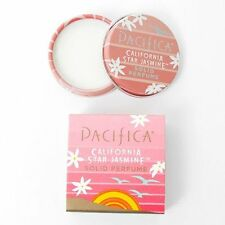 PACIFICA PERFUME CALIFORNIA STAR JASMINE Solid FRAGRANCE - Bright Orange VEGAN