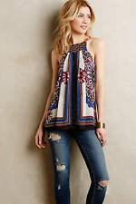 NIP Anthropologie Nala embroidered Tank by one.september NEW Size LP Brand New