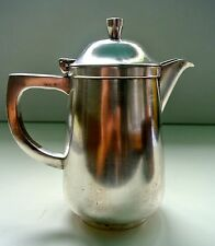teapot, silver-plated, India