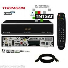 RECONDITIONED Pack Receiver THOMSON THS804 HD + Card TNTSAT astra Decoder TNT