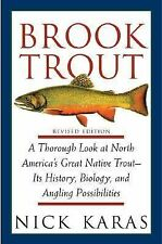 Brook Trout by Nick Karas (2002, Hardcover, Revised)