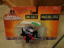 1998 HASBRO--SMALL SOLDIERS MOVIE--MINI DIECAST POWER DRILL CYCLE (NEW)