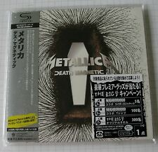 METALLICA - Death Magnetic JAPAN SHM MINI LP CD NEU! UICY-94674