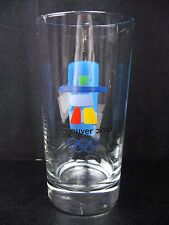 2010 Vancouver Olympic   Glass Tumbler