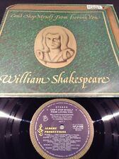 APLP 008 WILLIAM SHAKESPEARE CAN'T HELP MYSELF  LP RECORD  EARLY BLUE ALBERT