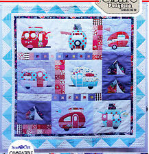 Vantastic - applique & pieced campers quilt PATTERN - Claire Turpin