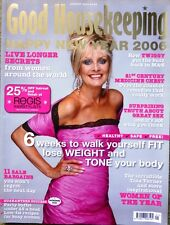 Good Housekeeping Magazine January 2006 Twiggy