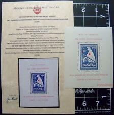 French Nazi Legion ICE BEAR stamp sheet-1941-Xscarce-France/Germany/Frankenreich