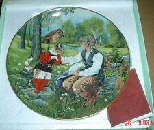 Kaiser Collectors Plate PUSS IN BOOTS