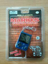 Game Boy mini Classics Mario 's Cement Factory nuevo/en el embalaje original consola Nintendo rar Top