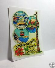 JASPER NATIONAL PARK CANADA Vintage Style Travel Decal / Vinyl Sticker