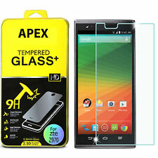 New For ZTE Z970(ZMAX) Premium Tempered Glass Screen Protector Transparency
