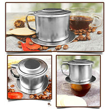 Office Home Traveling Stainless Steel Drip Coffee Filter Maker Pot Infuser New