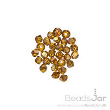 5328 Swarovski Bicone Beads (001) Crystal Copper 2.5mm Pack of 30 (C30/3)