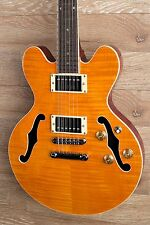 Wolf WA TM Amber [ES339 Size Deeper Body] Semi Hollow Electric Guitar 2017