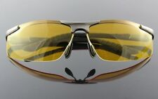 High-end night vision driving glasses, polarized aviator police glasses #6 GF