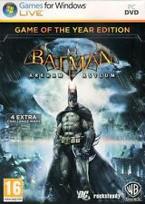 BATMAN ARKHAM ASYLUM GAME OF THE YEAR EDITION PC *NEW & SEALED*