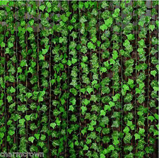 Artificial Ivy Leaf Garland Plants Vine Fake Foliage Flowers Home Decor Hot Sale