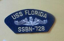 USS Florida  SSBN-728 - New Military Iron-On Patch