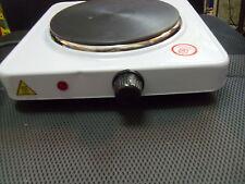 Processore singolo piano COTTURA ELETTRICO 1500W PIASTRA RISCALDANTE PIASTRA PORTATILE RISCALDATORE STUFA BIANCO