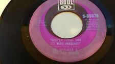 JR. WALKER & THE ALL STARS CLinging To The Thought / Gotta Hold On SOUL 35070 45