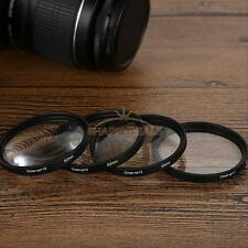 52mm Macro Close-Up Filter Lens Set +1+2+4+10 for Nikon D5300 D7100 D5100 D5200