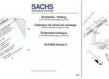 Hercules, Sachs Ersatzteile-Liste Elo-Touring D/ F/ NL  P004000080207000