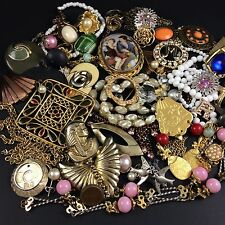 Misc Mixed Broken Jewelry Lot Parts Harvest Repair Craft Vintage to Modern Egypt