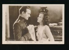 Film Theatre CONRAD NAGEL GRETA GARBO MGM Mysterious Lady c1928 RP PPC