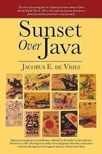 Sunset over Java by Jacobus de Vries (2015, Paperback)