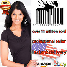 50 UPC Numbers Barcodes Bar Code GS1-issue EAN Amazon Lifetime Guarantee