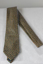 "RARE Mens GLENFARCLAS Scotch Whisky ALL SILK 3.5"" classic width neck tie NEW"