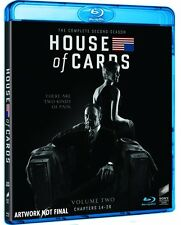 HOUSE OF CARDS - STAGIONE 2 (4 BLU-RAY) COFANETTO SERIE TV con Kevin Spacey