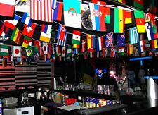AAZ8 100 NATIONS COUNTRIES FLAGS Africa Europe America INTERNATIONAL FLAGS PARTY