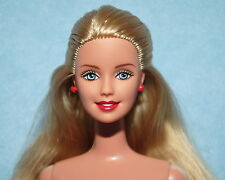 HONEY GOLD Long Blonde Hair NUDE Twist & Turn BARBIE for OOAK or Repaint
