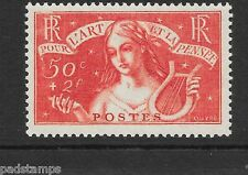 FRANCE 1935 50c+2fr Unemployed Intellectuals vf MINT never hinged SG 533 Cat £75