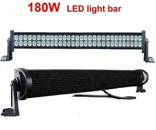 32 INCH 180WATT 60 LED WORK LIGHT BAR COMBO BEAM FOR OFFROAD CAR SUV FOG LIGHT