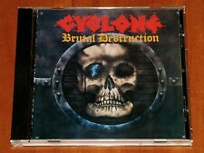 CYCLONE BRUTAL DESTRUCTION CD *RARE* ROADRUNNER RECORDS 1986 REPRESS New