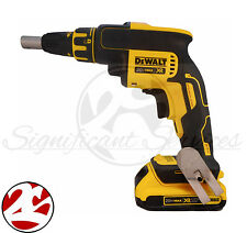 DeWALT DCF620 20V MAX Li-Ion Brushless Drywall Screwdriver Drill DCB203 Battery