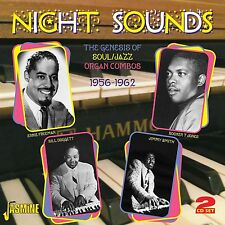 NIGHT SOUNDS 2 CD NEU JIMMY SMITH/JIMMY MCGRIFF/SHIRLEY SCOTT/HANK MARR