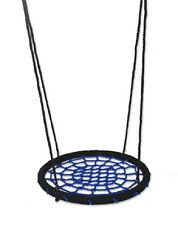 Spider Web Swing 60cm BLUE BLACK Nest Kids Special Needs Cubby House Playground