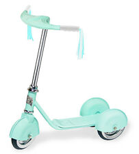 Morgan Cycle Push Scooter Personalized Name Childs Retro Three Wheel Scooter