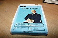 8 TRACK CARTRIDGE / TAPE - CLASSICAL - AUTUR RUBINSTEIN - L'AMOUR DE LA VIE