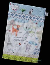 PORTMEIRION Arthur Goodfellow Cat amis thé coton plat pot serviette par Pimpernel