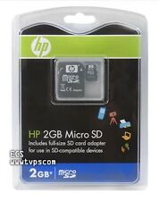 HP 2GB Micro SD Digital Portable Card with Adapter