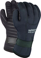 SeaSoft Stealth 3 Gloves Scuba Diving Snorkeling 3mm  LG NEW