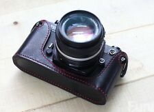 Handmade Genuine real leather bag case cover for NIKON FM2 FM3a FE2 camera