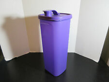 Tupperware Slim Line Pitcher Fridge Bottle Purple 2L EUC