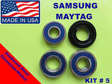 FRONT LOAD WASHER,3 TUB BEARINGS AND SEAL, Samsung,Maytag, KIT # 5 ,DC6200156A