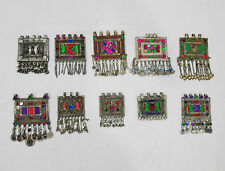 Vintage Afghan Banjara Tribal Jewellery Dangle Pendants 10Pcs Wholesale LOT PL09